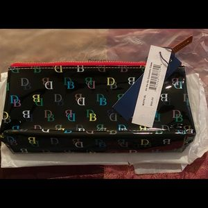 Dooney and Bourke plastic /leather make up pouch